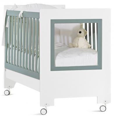 Кроватка Feretti Le Chic (bianco/menta)