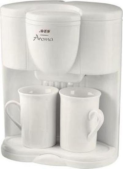 Кофеварка VES Electric V FS 5 белый пароочиститель ves electric v st03 1550вт фиолетовый чёрный