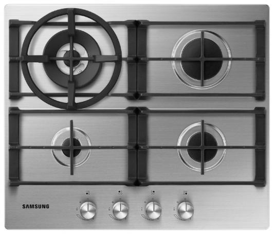 Варочная панель газовая Samsung NA64H3040AS серебристый от 123.ru