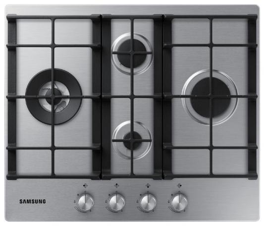 Варочная панель газовая Samsung NA64H3040BS серебристый