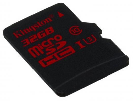 Карта памяти Micro SDHC 32GB Class 10 Kingston SDCA3/32GBSP