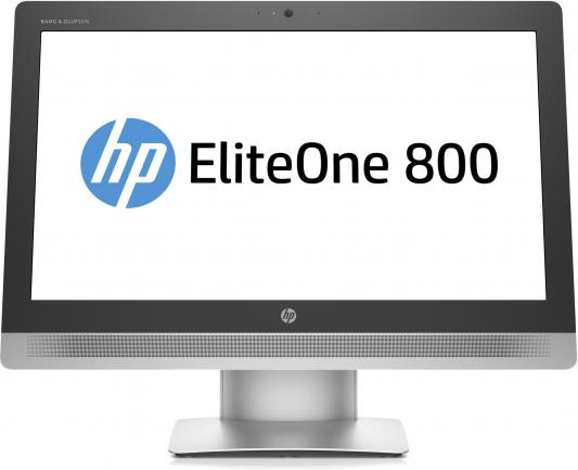 "Моноблок HP EliteOne 800 G2 23"" 1920x1080 i3-6100 3.7GHz 4Gb 500Gb HD530 DVD-RW Wi-Fi DOS серебристо-черный T4K10EA"