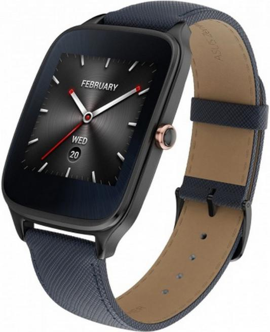 Смарт-часы ASUS ZenWatch 2 WI501Q синий asus zenwatch 3 wi503q silicon