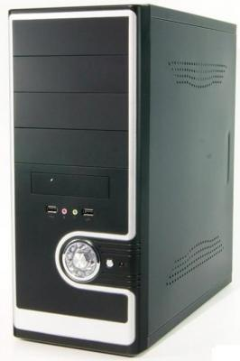 Корпус ATX Super Power Winard 3029 C 600 Вт чёрный серебристый цены онлайн