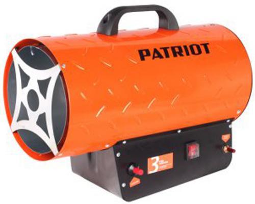 цена на Тепловая пушка Patriot GS 30 30000 Вт термостат ручка для переноски красный чёрный