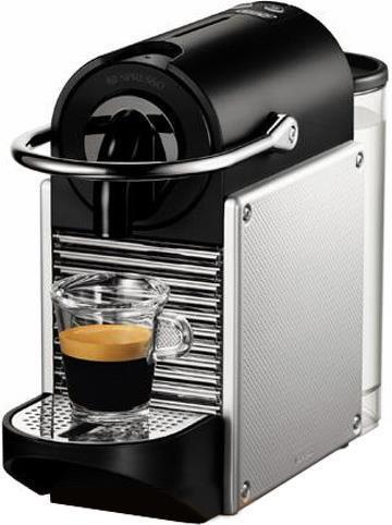 Кофемашина DeLonghi EN 125 S серебристый