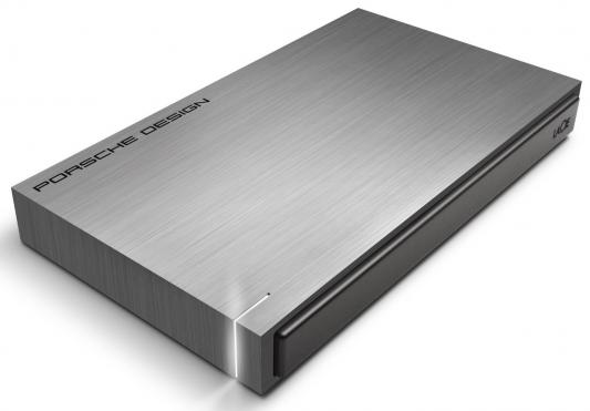 """Внешний жесткий диск 2.5"""" USB3.0 2Tb Lacie Porsche Design P'9220 9000459 серебристый"""
