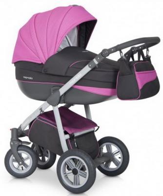 Коляска 2-в-1 Expander Mondo Grey (02/серый-розовый) коляска 2 в 1 expander mondo prime 01 stone