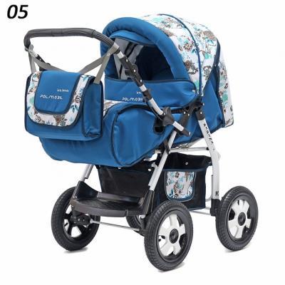 Коляска прогулочная Polmobil Karina (05/темно-синий)