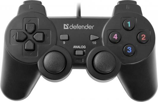 Геймпад Defender Omega USB 64247 микрофон defender mic 142 64142