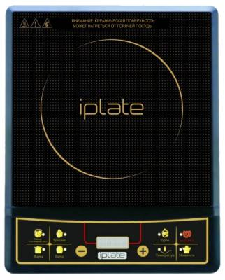 купить Индукционная электроплитка Iplate YZ-T18 чёрный по цене 1990 рублей