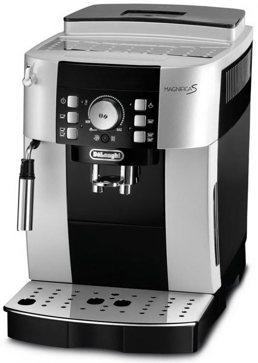 Кофемашина DeLonghi ECAM 21.117.SB черно-серебристый кофемашина delonghi ecam 550 75 ms