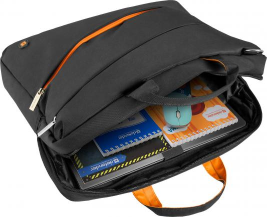 """Сумка для ноутбука 17"""" Defender Vigor синтетика черный 26003 от 123.ru"""