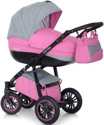Коляска 2-в-1 Expander Mondo Black (11/розовый-серый) коляска 2 в 1 expander mondo prime 01 stone