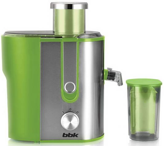 Соковыжималка BBK JC060-H02 600 Вт нержавеющая сталь серебристо-зеленый