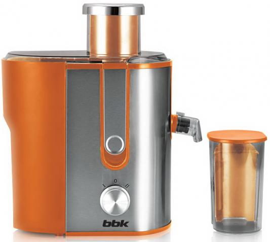 Соковыжималка BBK JC060-H02 600 Вт нержавеющая сталь серебристо-оранжевый