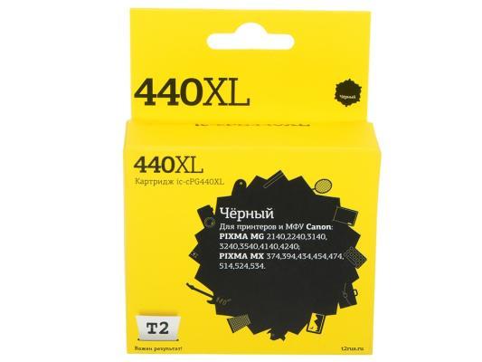 Картридж T2 IC-CPG440XL для Canon PIXMA MG2140 3140 3540 MX394 434 474 черный картридж t2 ic ccli 8c для canon pixma ip4200 4300 5200 pro9000 mp500 600 голубой
