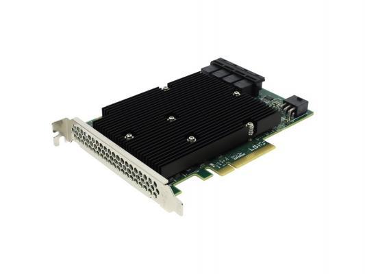 Контроллер LSI SAS9300-16i SGL LSI00447 контроллер lsi sas 9300 8e sgl lsi00343
