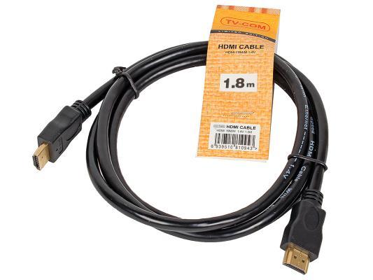 Кабель HDMI 1.8м VCOM Telecom V1.4+3D CG150S-1.8M