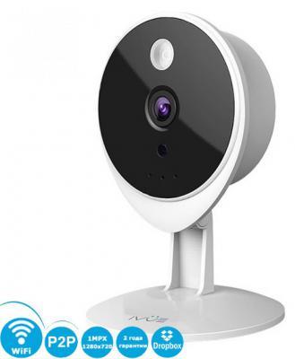 "Камера IP ivue T1 CMOS 1/4"" 1280 x 720 H.264 RJ-45 LAN Wi-Fi белый"