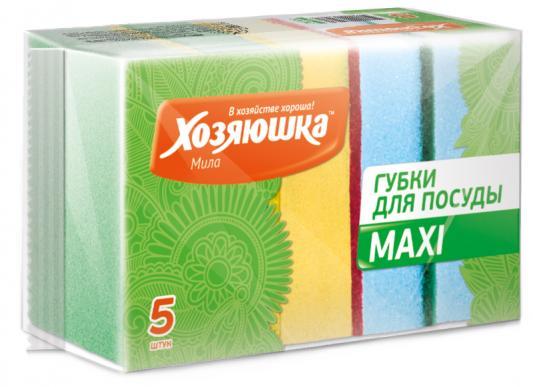 Губка для посуды Хозяюшка Мила MAXI 01002