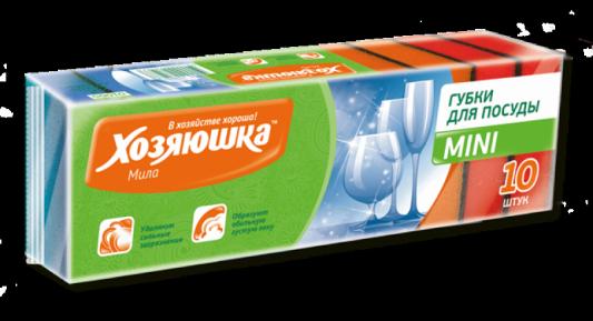 Губка для посуды Хозяюшка Мила MINI 01005 цены онлайн