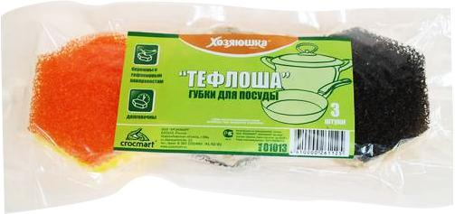 Губка для посуды Хозяюшка Мила Тефлоша 01013-100 плоская кисть kraftool klassik 1 01013 25