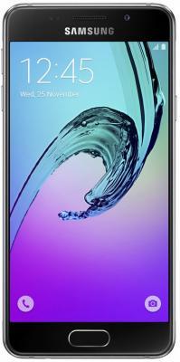 "Смартфон Samsung Galaxy A3 Duos 2016 черный 4.7"" 16 Гб NFC LTE Wi-Fi GPS SM-A310FZKDSER"