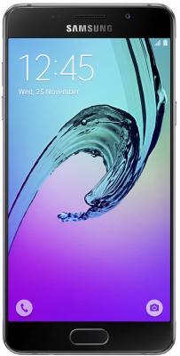 "Смартфон Samsung Galaxy A5 Duos 2016 черный 5.2"" 16 Гб NFC LTE Wi-Fi GPS SM-A510FZKDSER"
