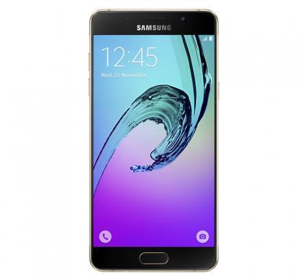 Смартфон Samsung Galaxy A5 Duos 2016 золотистый 5.2 16 Гб NFC LTE Wi-Fi GPS SM-A510FZDDSER samsung galaxy s4 2 ядра dual 5 дюймов wi fi duos android 4 0 2 sim