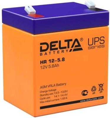 Батарея Delta HR 12-5.8 5.8Ач 12B цена и фото