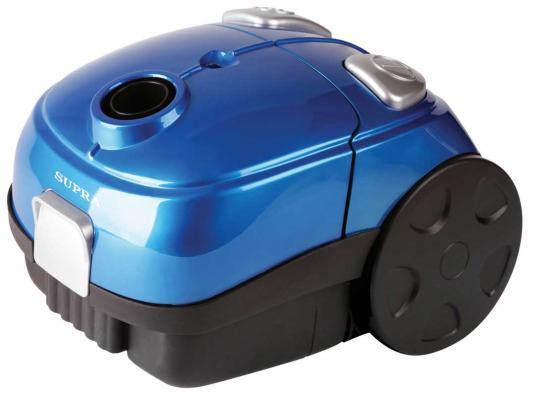Пылесос SUPRA VCS-1602 c мешком сухая уборка 1600Вт синий favourite 1602 1f