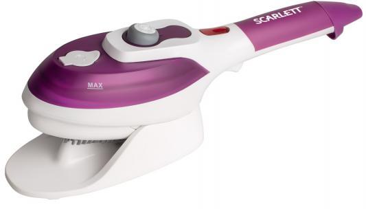 Отпариватель Scarlett SC-SB23201 900Вт фиолетовый/белый