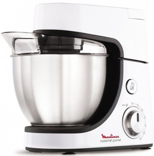 Кухонный комбайн Moulinex QA5001B1 900Вт белый цена