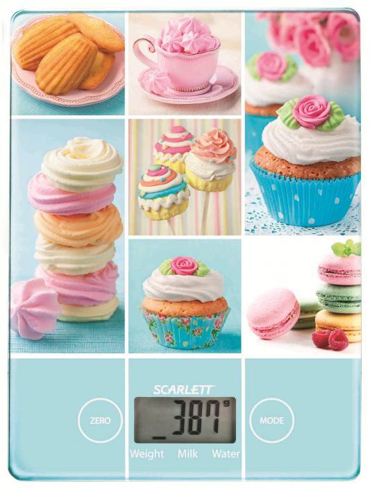 Весы кухонные Scarlett SC-KS57P05 рисунок весы scarlett sc bs33e002 желтый рисунок