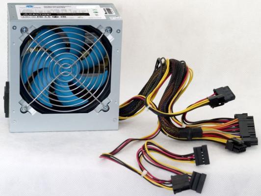 БП ATX 450 Вт PowerCool PC450-120-O блок питания atx 450 вт powercool pc450 120 apfc 80p o