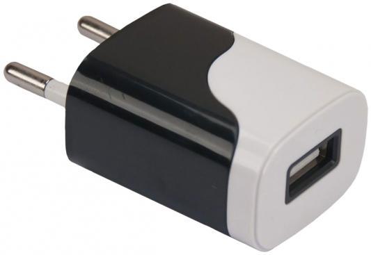 Сетевое зарядное устройство Continent ZN10-194BK USB 1A черный