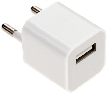 Сетевое зарядное устройство Continent ZN10-193WT USB 1A белый сетевое зарядное устройство continent zn10 194bk usb 1a черный
