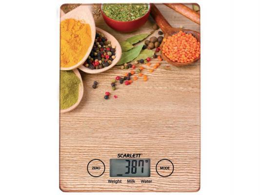 Весы кухонные Scarlett SC-KS57P02 рисунок