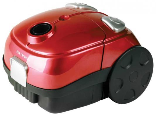 Пылесос SUPRA VCS-1602 c мешком сухая уборка 1600Вт красный пылесос supra vcs 1602 blue