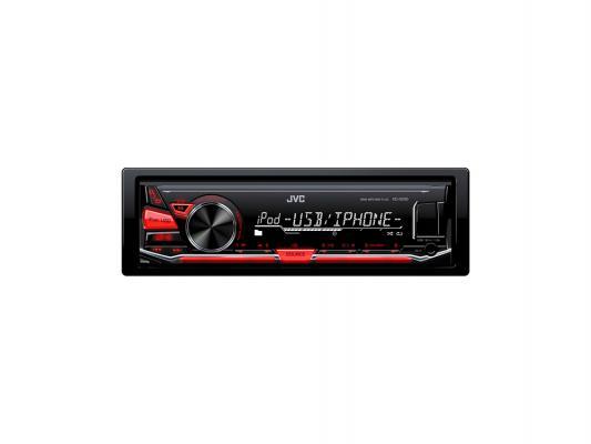 Автомагнитола JVC KD-X230 USB MP3 FM RDS 1DIN 4x50Вт черный
