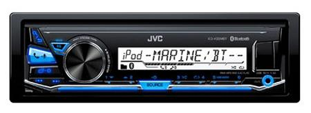 Автомагнитола JVC KD-X33MBT USB MP3 FM RDS 1DIN 4x50Вт черный автомагнитола jvc kw m24bt usb mp3 fm rds 2din 4x50вт черный