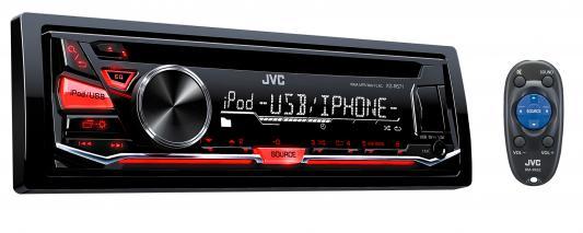 Автомагнитола JVC KD-R671 USB MP3 CD FM 1DIN 4x50Вт черный