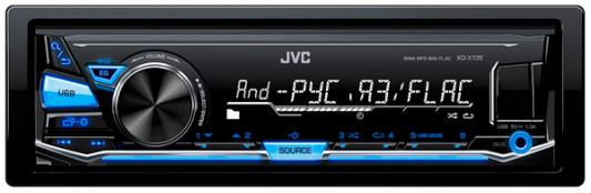 Автомагнитола JVC KD-X135 USB MP3 FM 1DIN 4x50Вт черный