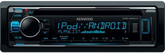Автомагнитола Kenwood KDC-300UV USB MP3 CD FM RDS 1DIN 4х50Вт черный беспроводной маршрутизатор d link dir 615 t черный