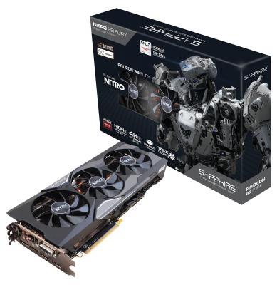 Видеокарта 4096Mb Sapphire R9 FURY PCI-E DVI HDMI DP HDCP 11247-03-40G Retail