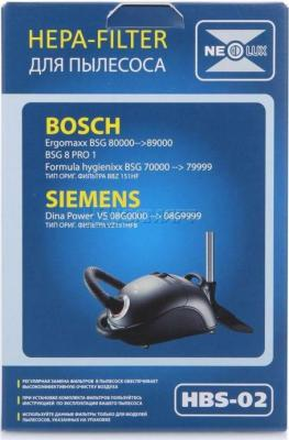 Фильтр для пылесоса NeoLux HBS-02 для Bosch/Siemens neolux hbs 01
