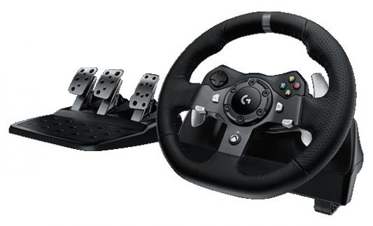 все цены на Руль педали Logitech G920 Driving Force 941-000123