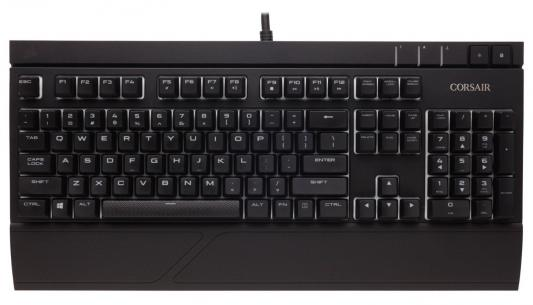 Клавиатура проводная Corsair Gaming Strafe RGB USB черный Cherry MX Brown CH-9000094-RU corsair corsair gaming k95 cherry mx brown