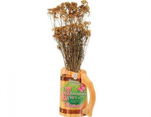 Травяной букет для бани Пижма Банные штучки 33064 травяной букет банные штучки 55 17 см ромашка